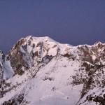 Mt Blanc und Mt Maudit