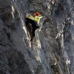 Fels und Kletterer