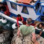 Boot auf Telendos