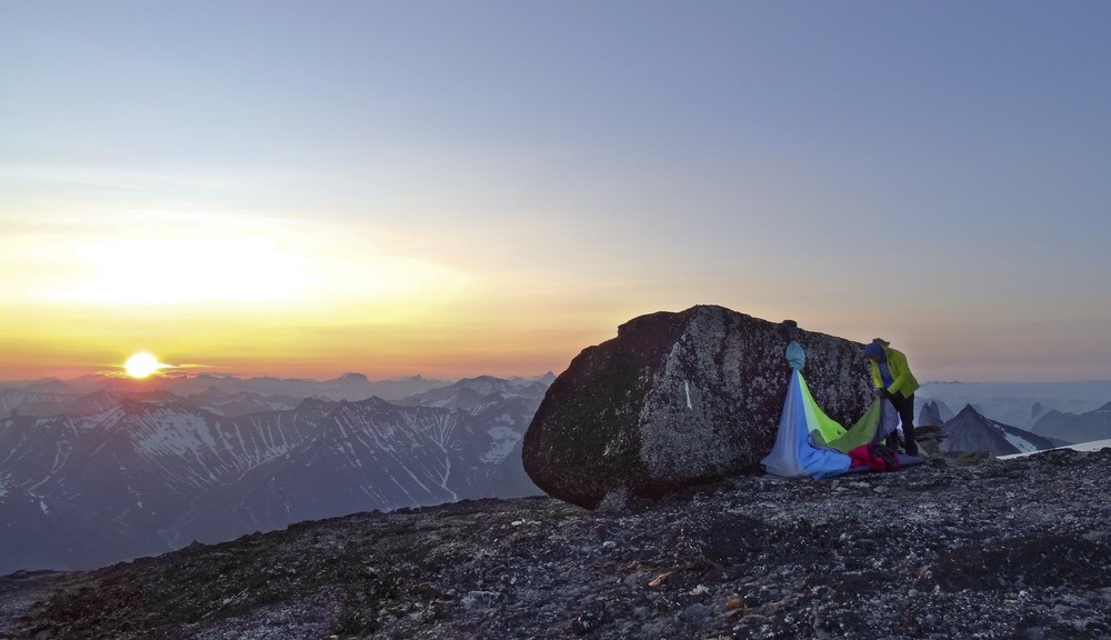 bivy on the top