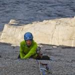 splitter crack above an ocean of granit
